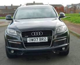 AUDI q7 s line Quattro Automatic 60700 Very low genuine milage full history