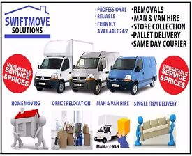 Domestic / Commercial Removals / Relocations / Transporters / Man & Van hire/House Rubbish Clearance