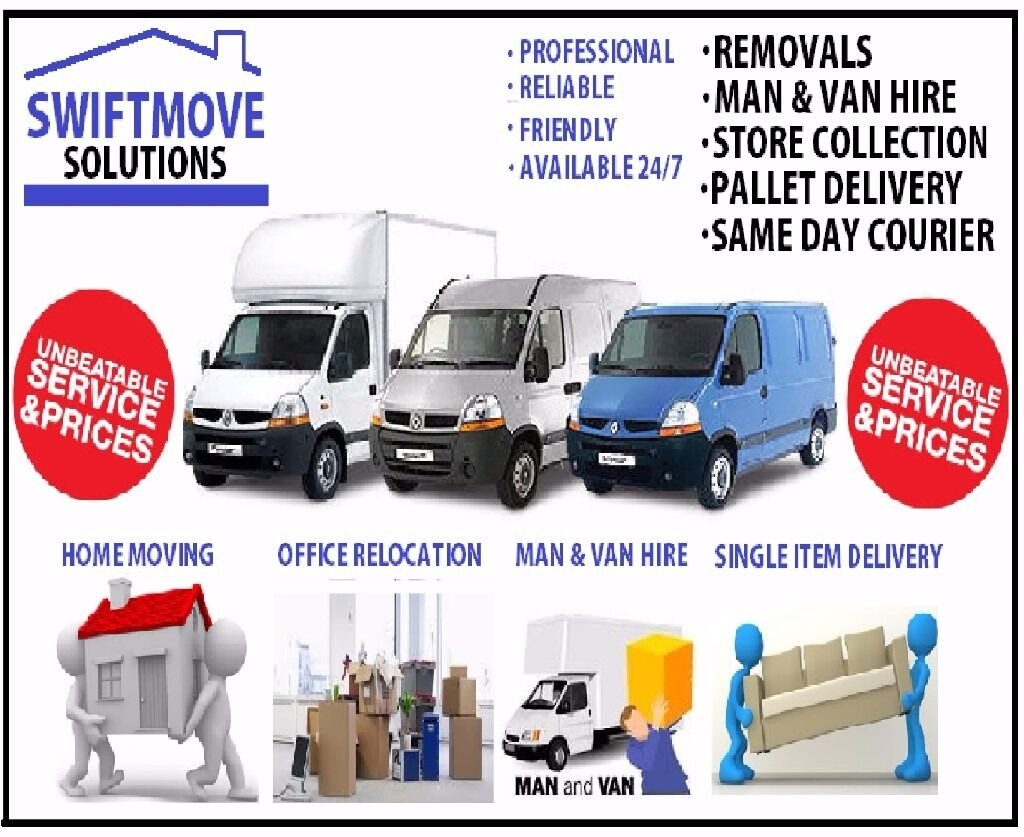 Removal / Man & Luton Van,Office House Move/Clearance Bike Recovery Islington Tottenham Walthamstow)