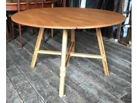 Ercol Drop Flap Extending Dining Table
