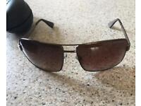 Original Armani Unisex Sunglasses tinted brown