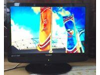 Technika 22 LCD HD DIGITAL BUILT IN FREEVIEW Digital Television TV
