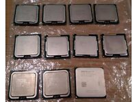 Bunch of Intel Processors