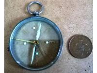 vintage pocket watch compass