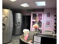 Tanning and beauty salon