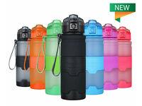 YOOSUN SPORT WATER BOTTLE BPA FREE LEAK PROOF DRINKS ECO TRAVEL FLUID CONTAINER.