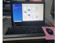 HP Intel Core i5 All-in-One PC. 4GB RAM, 500GB HDD, Windows 10. Microsoft Office.