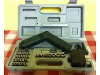 CORDLESS SCREWDRIVER WITH LOTS OF ACCESSORIES ( NEW, WITH CARRY CASE )