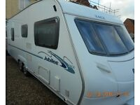 2007 4 Berth Fixed Bed Twin Axle Caravan