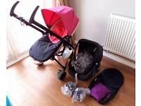 2 months old, Quinny Zapp Flex travel system
