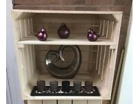 Upcycle apple create/storage/blanket box/shoe rack