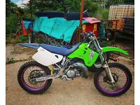 Kx125 up for swaps for quick 2 stroke or sm