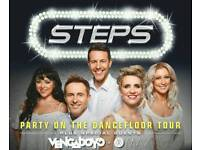 2 x tickets for Steps and Venga Boys. Nottingham