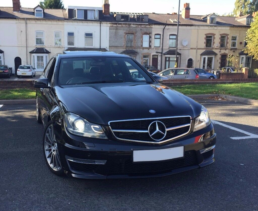 Mercedes C63 AMG Saloon Obsidian Black Metallic *AMG warranty*