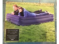 Tesco Raised Double Air Bed with Built in Pump
