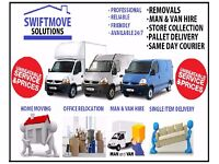 Cheap Removals / Man & Luton 7.5 Tonne Vans, Office House Commercial Movers Rubbish Garden Clearance