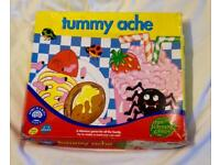 Orchard Toys Tummy Ache Children Fun Learning Game. Vintage 1995 Edition.