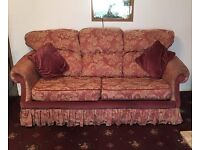 3 Seater Sprung Double Bed Settee
