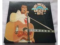 Elvis Presley Greatest Hits 6 vinyl LP records – Readers Digest 1975 box set