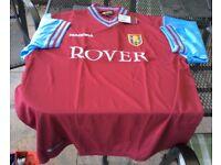 Aston Villa Football Shirt