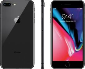 Iphone 8plus - Black - Brand New condition - Unlocked to Any network - 64gb