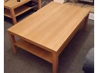 IKEA LACK Large coffee table - 118 x 78cm - Oak Effect - REDUCED, NOW £15