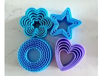 Sets of Cookie Cutters (4 different shapes)
