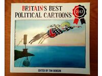 Book Britain's Best Political Cartoons 2017 Edited By Tim Benson New