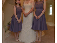'Maid to Measure' Bridesmaid/ Prom Dresses, Sizes 10 and 8