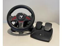 Subsonic Universal Gaming Wheel & Pedals