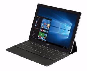 "Samsung Galaxy TabPro S 12"" 2-in-1 Super AMOLED touchscreen FHD Plus ,Intel M3-6Y30, 4GB, 128GB,McOffice Pro,NEW in BOX"