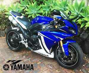 2011 Yamaha YZF-R1 - Super Sport R1 i4 Crossplane Blue White Kelvin Grove Brisbane North West Preview