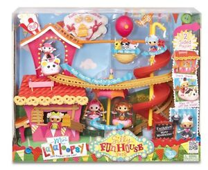 **NEW**MINI LALALOOPSY~SILLY FUN HOUSE PARK~PLAY SET~DOLL HOUSE~MISTY MYSTERIOUS