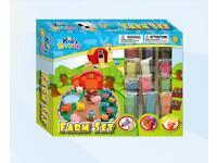 🌟 BRAND NEW 🌟 kids dough farm play doh sets