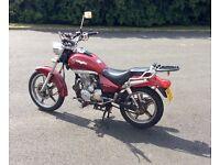Lexmoto 125cc leaner legal