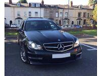 Mercedes C63 AMG Saloon Obsidian Black Metallic *AMG warranty*