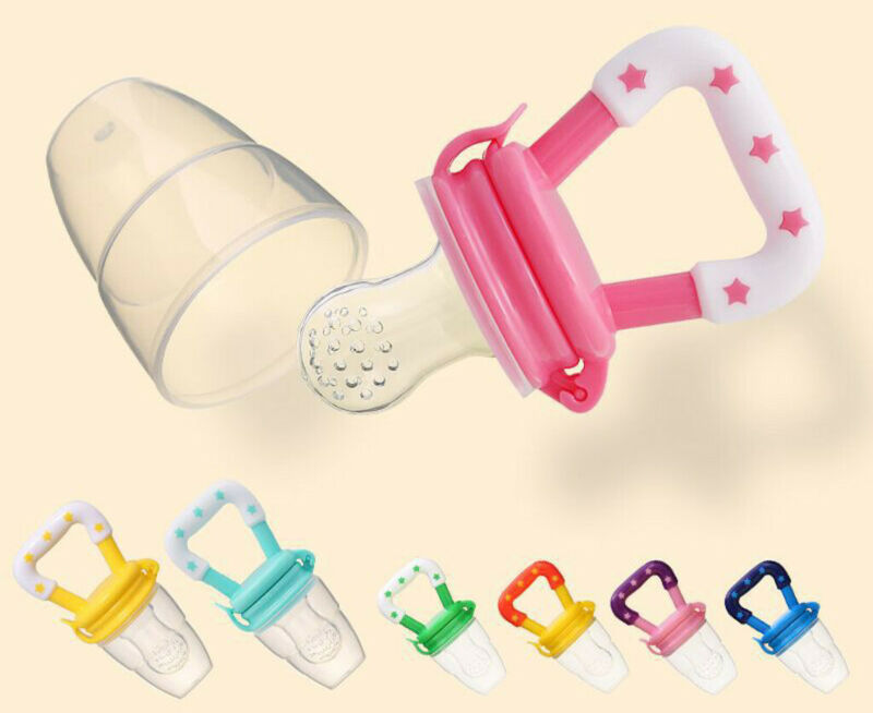 Newborn Infant Baby Boys Girls Teething Toys Soft Silicone F