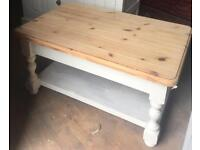 Upcycled farmhouse coffee Table