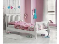 single sleigh bed frame