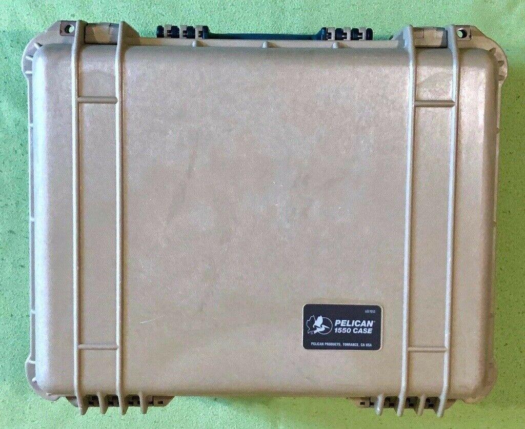 Peli Pelican 1550 Protector Case with Divider Set and Lid Foam in Desert  Tan   in Milton Keynes, Buckinghamshire   Gumtree