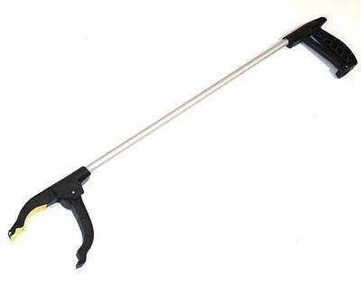 "30"" Pick Up Tool Aluminum Grabber Reacher w Pistol Grip and Magnetic Magnet Tip"