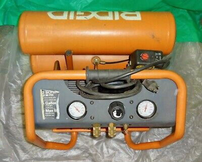 Ridgid Twin Stack Oil-free 4.5 Gal Portable Air Compressor. Model Of45150.