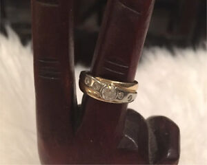 Beautiful gold and diamond ring(s)