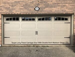 16x7 INSULATED CARRIAGE GARAGE DOORS ..... $1500