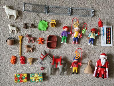 "Playmobil 3993 Christmas advent calendar ""Townsquare Holiday"" complete"