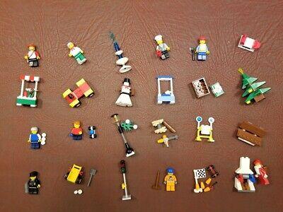 LEGO City 2009 Advent Calendar 7687, 100% Complete w/Box No Extra Pieces