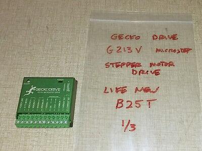 Gecko G213v Microstep Drive For Cnc Stepper Motor Control B25t