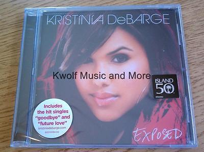 "KRISTINIA DeBARGE   ""Exposed""   New/Sealed  (CD, 2009, Island) on Rummage"