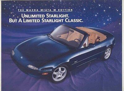 1996 Mazda Miata M Edition Brochure my5833