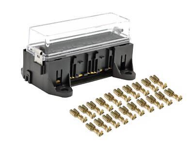 4 fach kfz Relais Sockel Fassung Relaisbox Kasten Qualität MTA Auto mit Deckel ()